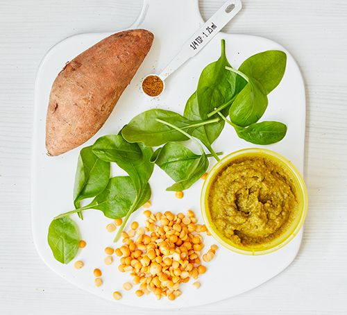 Spinach Lentil